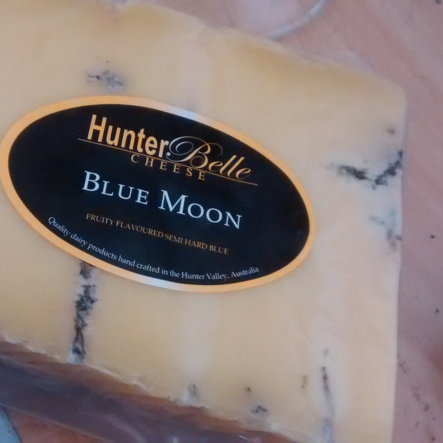 Hunter Belle Cheese Blue Moon
