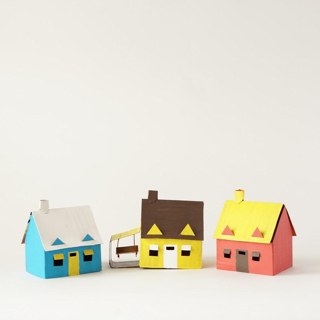 DIY Cardboard Neighborhood