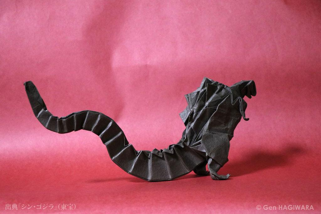 godzilla origami 28 images godzilla origami guru