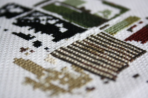House Cross Stitch Detail | by _reddeer_