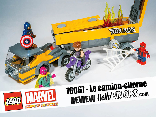 Lego 76067 Marvel HelloBricks Review