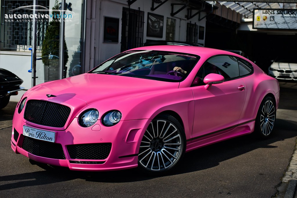 Bentley Continental Mansory Vitesse Ros 233 Designed By Pa