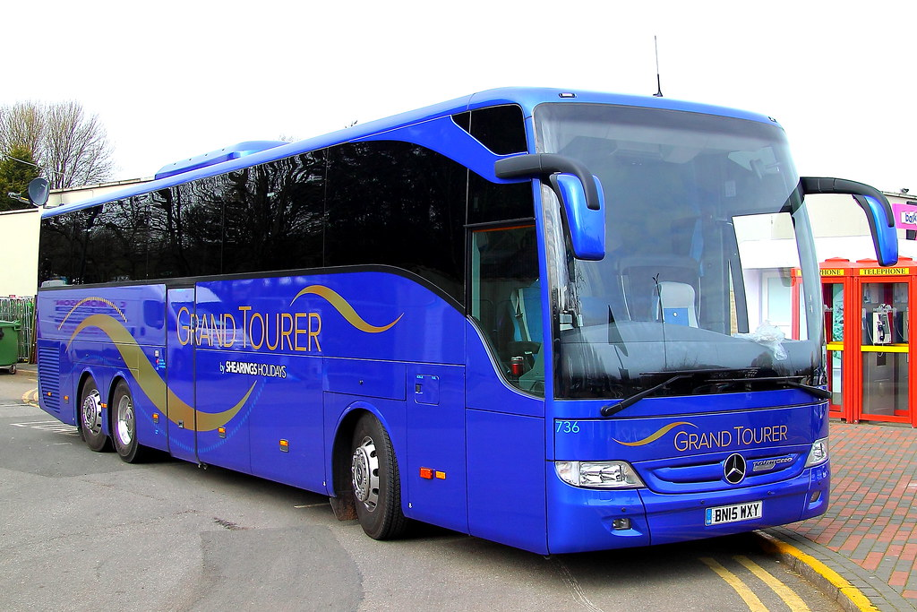 Shearings Grand Tourer No 736 Bn15wxy Mercedes Benz