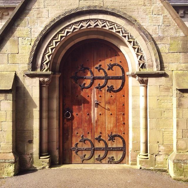 #stafford #staffordshire #door #doors & Main door Castle Church Stafford. #stafford #staffordshi\u2026 | Flickr