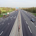 M25, Epping, approaching J27