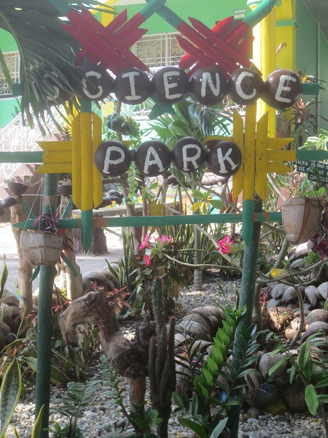 """Science Park"" sign in Verde Island"