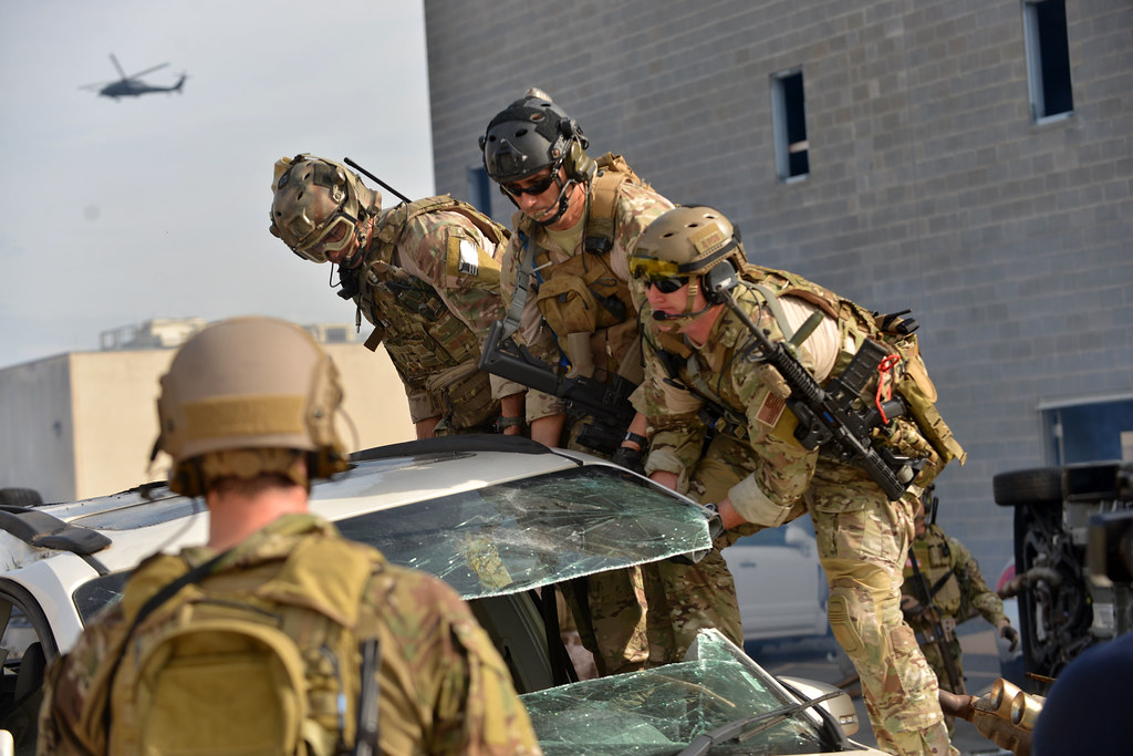 920th Rescue Wing Pararescue Jumpers Train At Guardian Cen