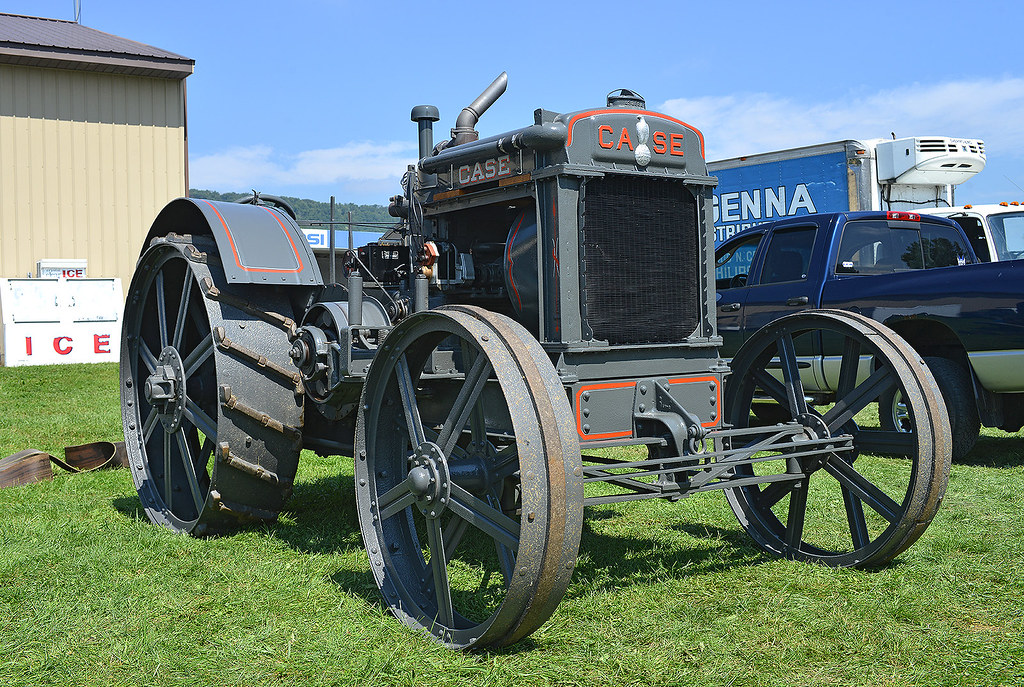 1928 Case 25-45 tractor | At the 2014 Fall Nittany Antique M… | Flickr