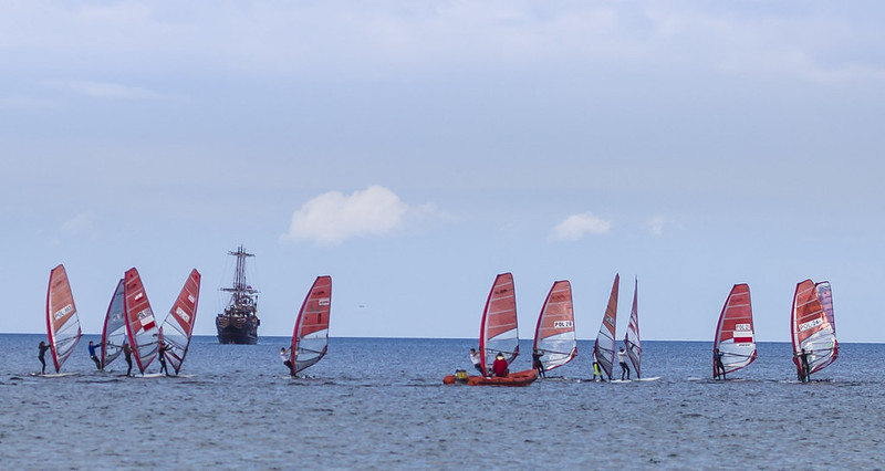 Windsurfing in Sopot