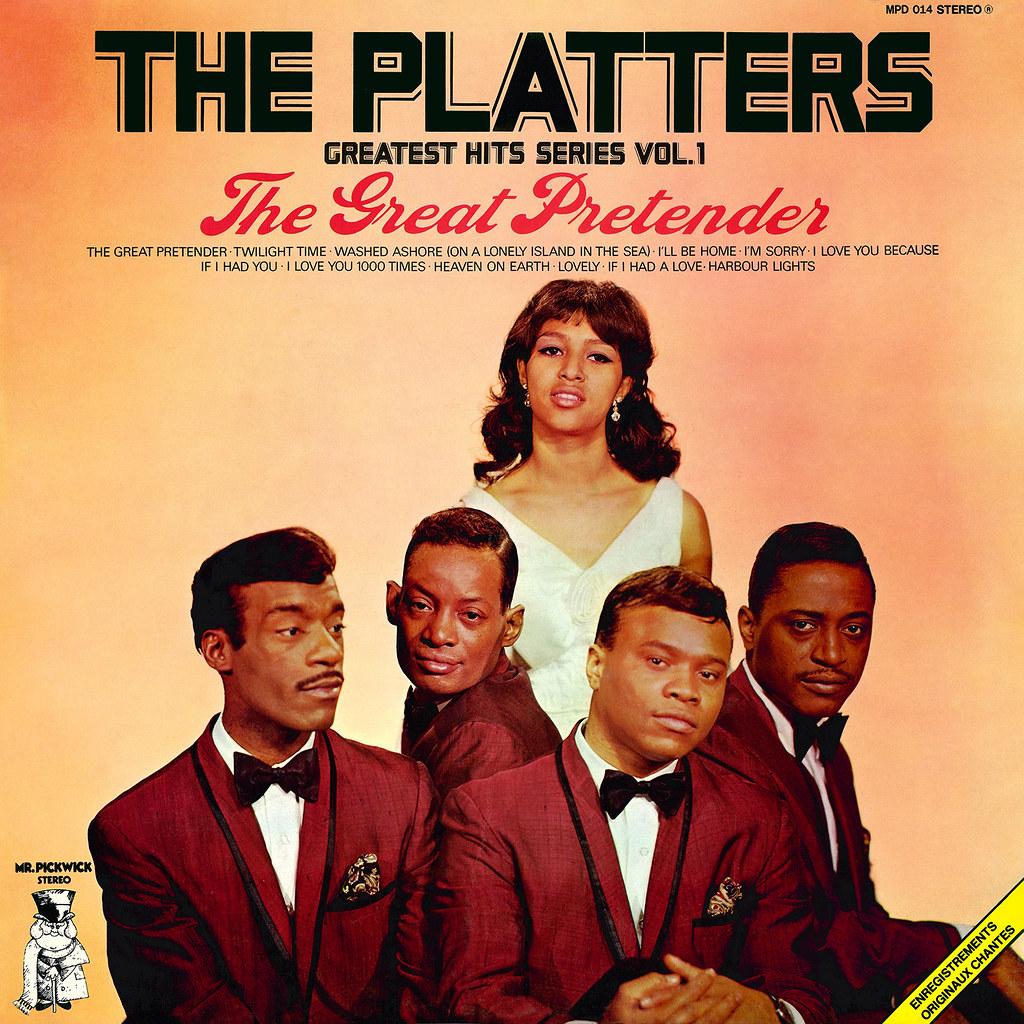The Great Pretender Lp Cover Art