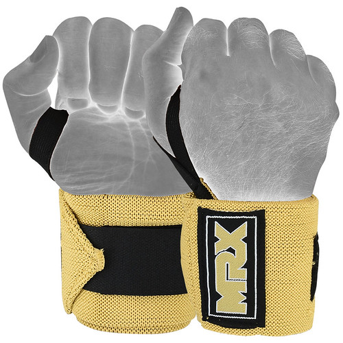 Brand New Wrist Wraps Tan Color | by MRX Products