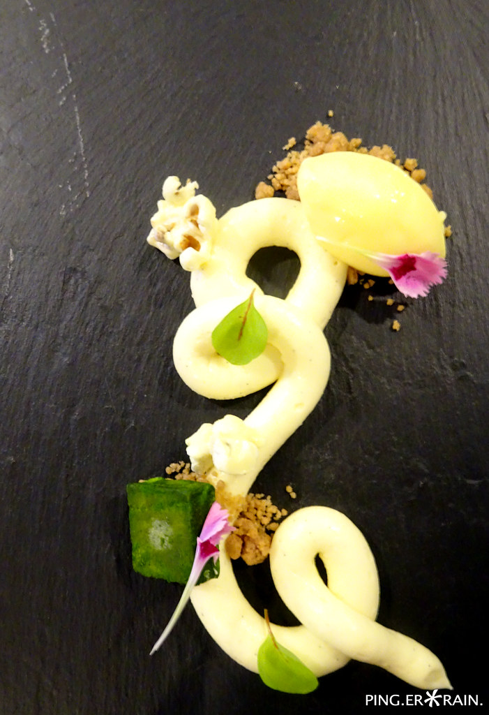 Creative Eats: Horizon Bistronomy: Deconstructed Yuzu Cheese Cake