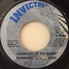 CHAIRMEN OF THE BOARD:CHAIRMAN OF THE BOARD(LABEL SIDE-A)