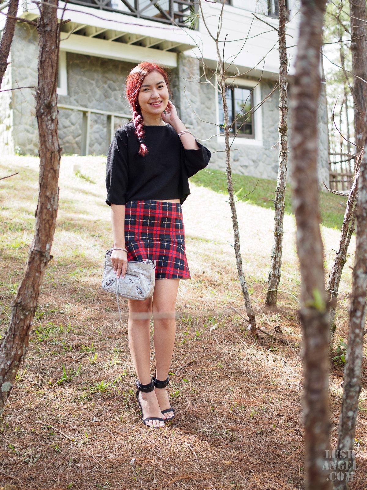 plaid-short-skirt