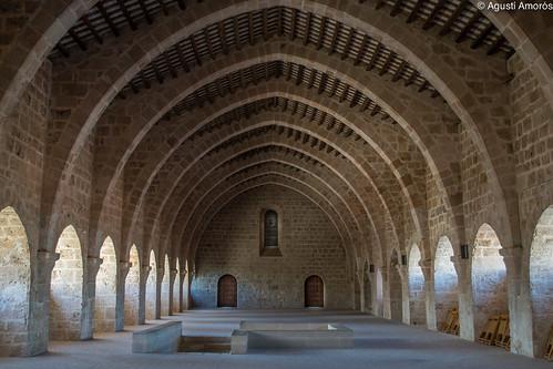 Reial Monestir de Santes Creus - Dormitori (Catalunya)  Flickr