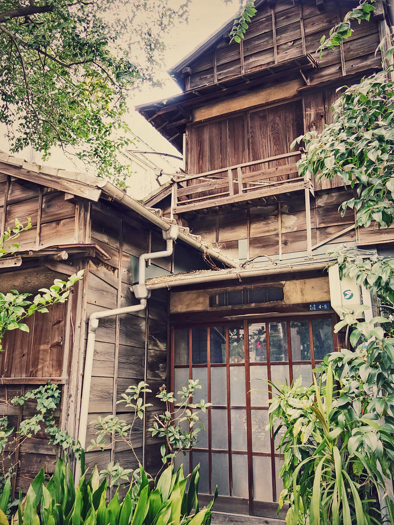 The house that time forgot perched in some very for Classic house akasaka