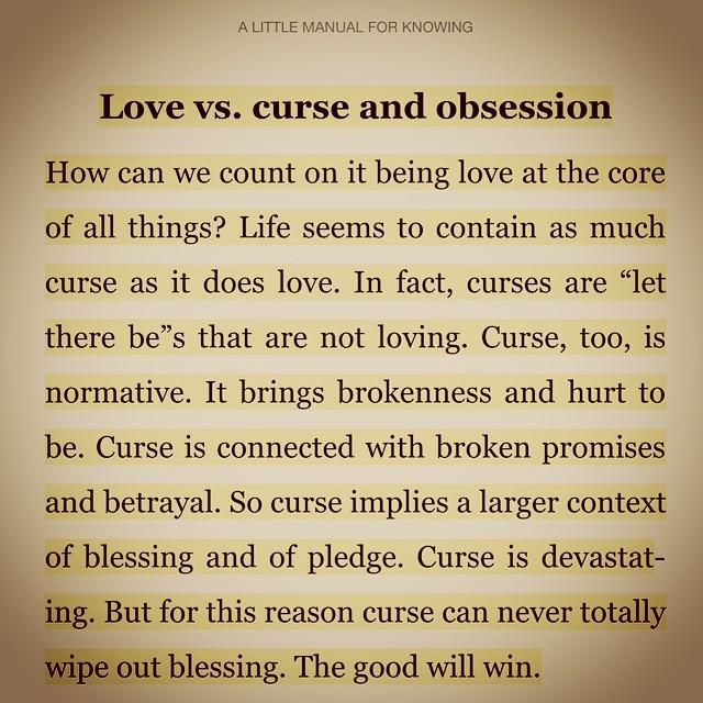 Being in love vs loving