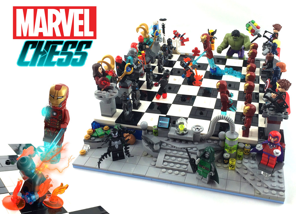 Lego Marvel Chess Newest Lego Ideas Project Lego Marvel