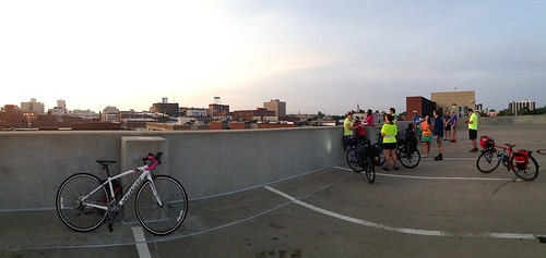 Last Day of Bike to Work Week, Springfield Sunrise Coffee & Bicycle Club ride to Downtown Springfield