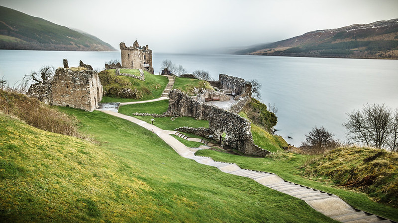 Urquhart Castle, Loch Ness, Inverness, Scotland, United Kingdom - travel photography