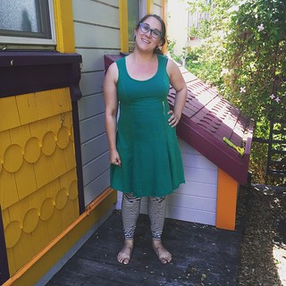 Another Alabama Chanin dress for #mmmay15