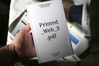 Printed Web 3 | by Paul Soulellis