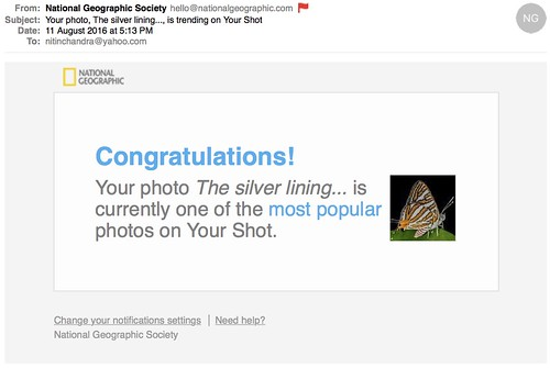 Your photo The silver lining is trending on Your Shot | by ncdslr