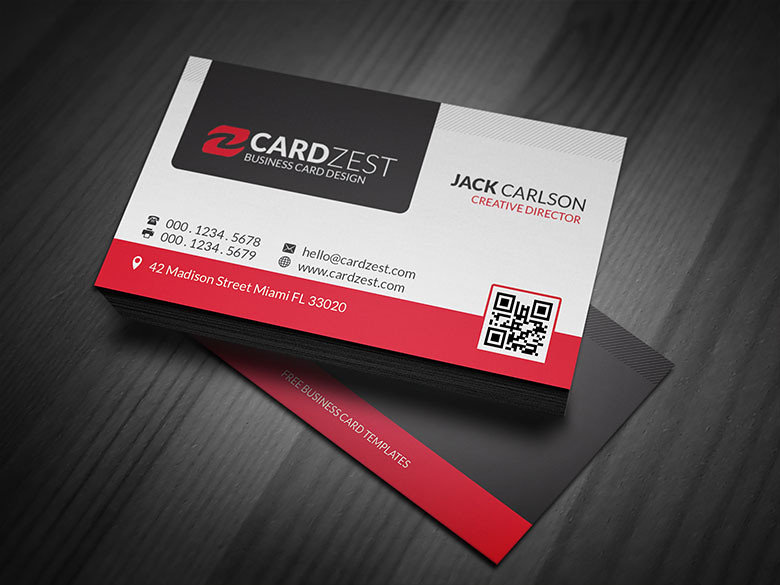 Modern professional business card template download mode flickr modern professional business card template by meng loong flashek Images