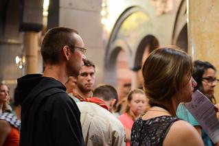 28/07 : Catéchèse avec le card. Barbarin, accueil du Pape, vigiles de la miséricorde