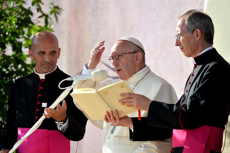Droga Krzyżowa zudziałem Franciszka, 29 VII 2016