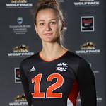 Iuliia Pakhomenko, WolfPack Women's Volleyball