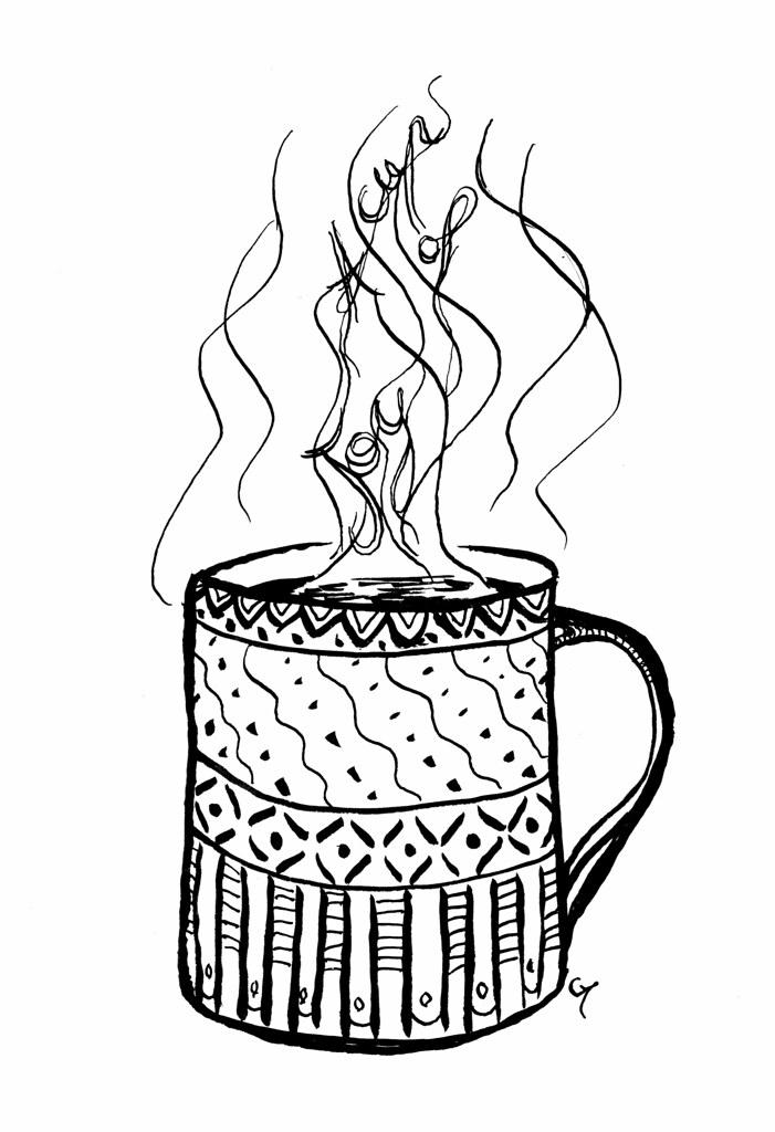 Pause thé à l'atelier Green Martha !