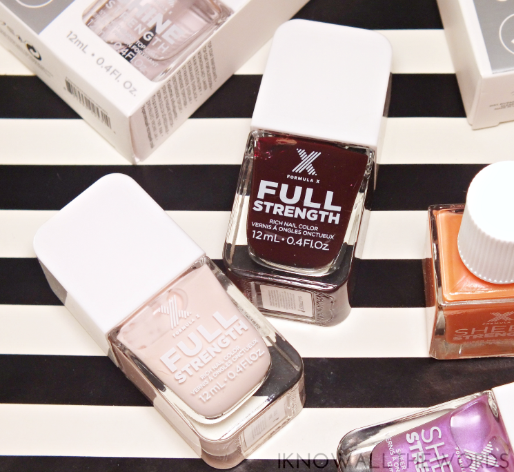 nothing but healthy nails with formula x full strength less is more & bulletproof (1)