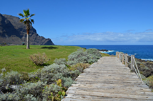 Coastal path, Tenerife