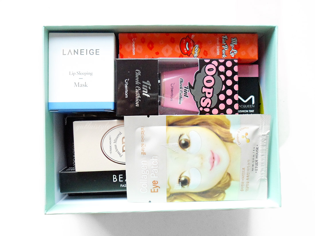 YesStyle Top 10 Must Try Korean Beauty Box
