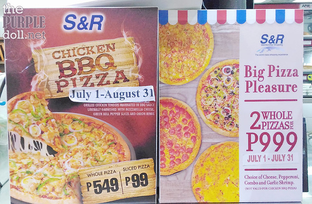 New Chicken BBQ Pizza at SnR