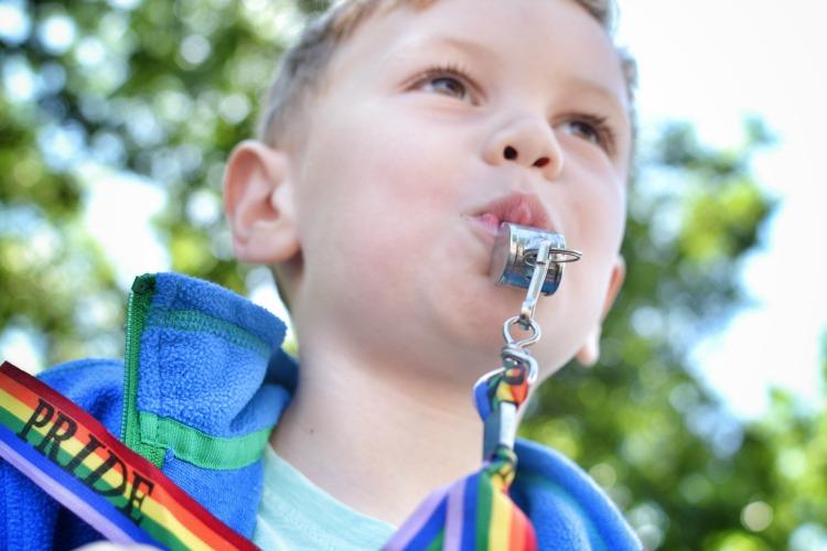 Brighton Pride for whistles