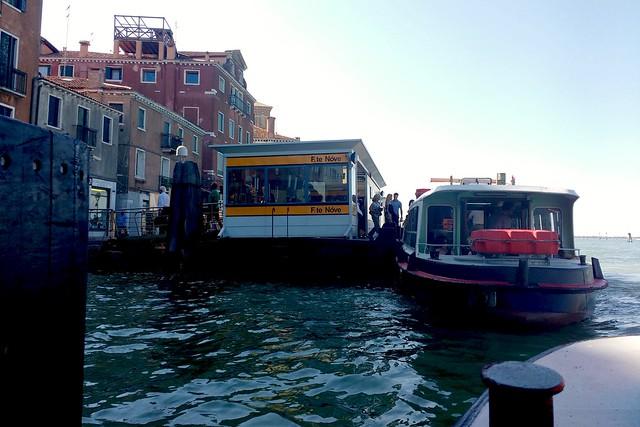 Promy w Wenecji