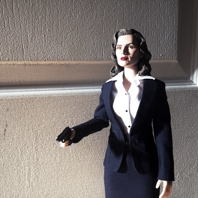 Agent Carter Toys : Agent carter scale custom figure flickr photo