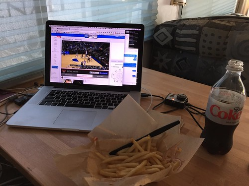 While the car is getting worked on, time for some lunch and the UK game | by silent (e)