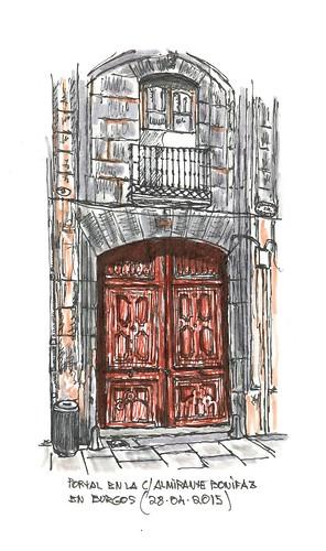 Burgos. Portal