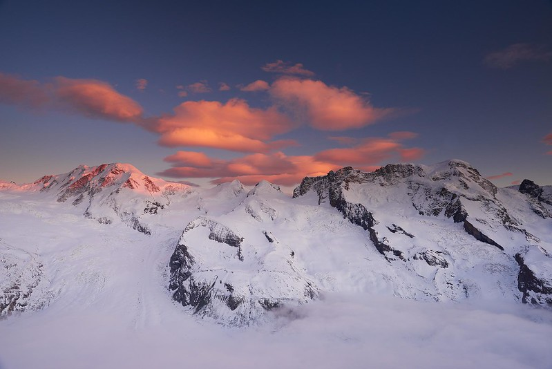 Red Clouds - Zermatt