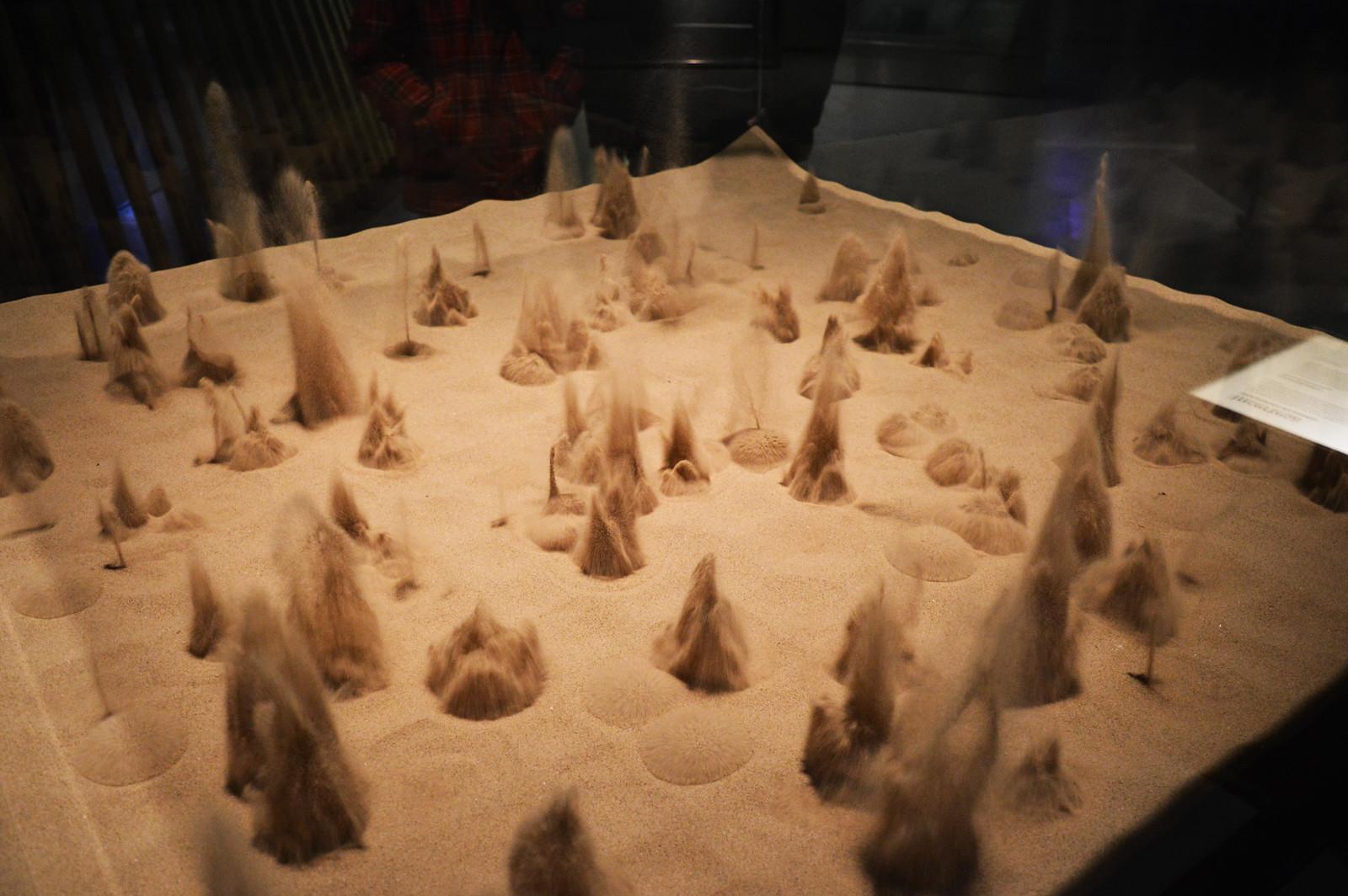 Sandstorm Simulation in CosmoCaixa