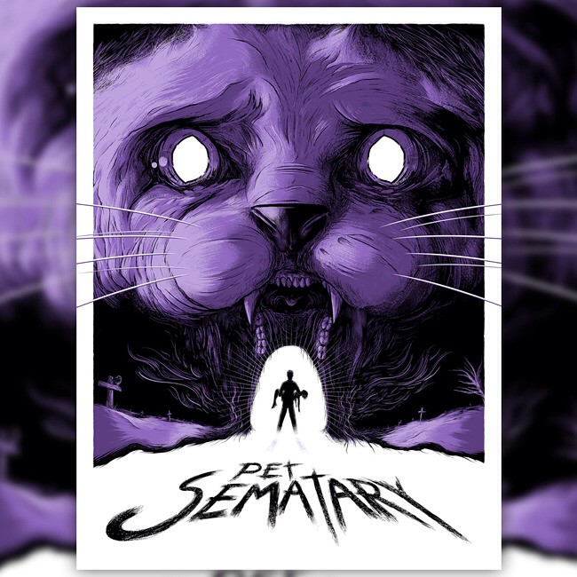 Pet Sematary Screenprint