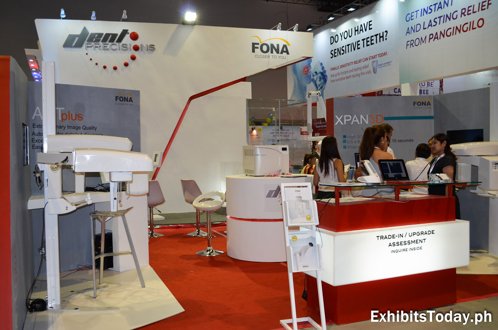 Dent Precision / Fona Exhibit Booth (back view)