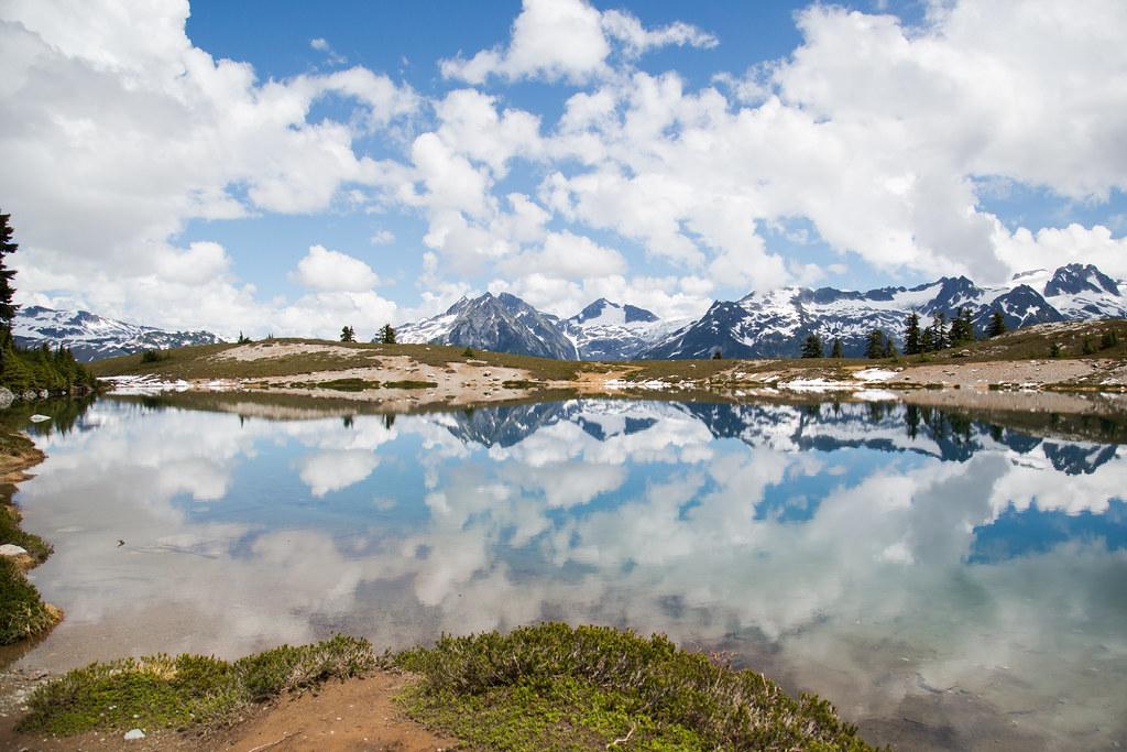 Elfin Lakes at Garibaldi