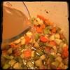 #BlackBean #Callaloo #Soup #Salad #Homemade #CucinaDelloZio - 1c stock (+w/s/w/s/s)