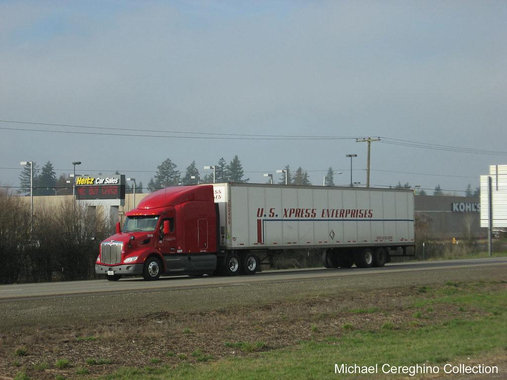 US Xpress Peterbilt 579 | US Xpress Peterbilt 579 near Alban… | Flickr