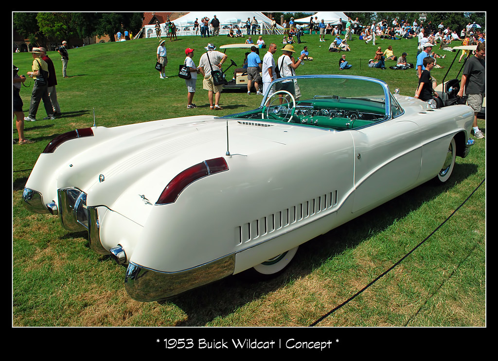 1953 Buick Wildcat I Concept The July 25 2010 Meadow Broo Flickr