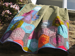 P1100710aHexagons quilt